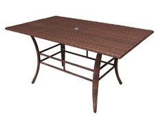 "Key Biscayne 60x36"" Rectangular Dining Table (PJO-7001-ATQ-RT)"