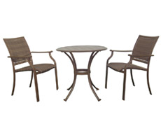 3 Pc. Island Cove Bistro Set (PJO-8001-ESP-3PC)