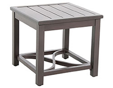Indies Post Leg Slats Side Table L842424-01-FPTN