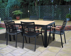 Quincy 7 pc. Dining Set FP-QUI-7DIN-MB