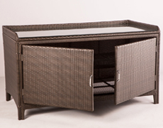 All Weather Wicker Sideboard by Alfresco Home 43-9480