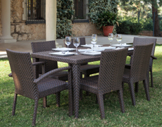 7 Pc. Soho Dining Set (7PC-SET-903-72S)