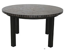 "Pennant 54"" Round Dining Table V1354RD-01-TRTN"