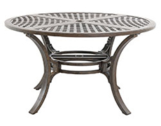 "Riva Traditional Cast 54"" Round Dining Table C8854RD-01-CRPN"
