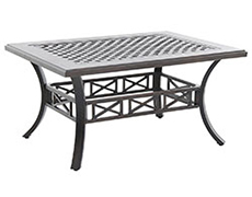 Riva Traditional Cast Coffee Table C823244-01-CRPN
