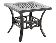 Riva Traditional Cast End Table C842424-01-CRPN