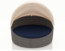 Wink Canopy Day Bed - Textured Slate HL-WINK-TS-DB