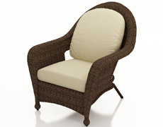 Winslow Lounge Chair FP-WIN-C-CO-AC